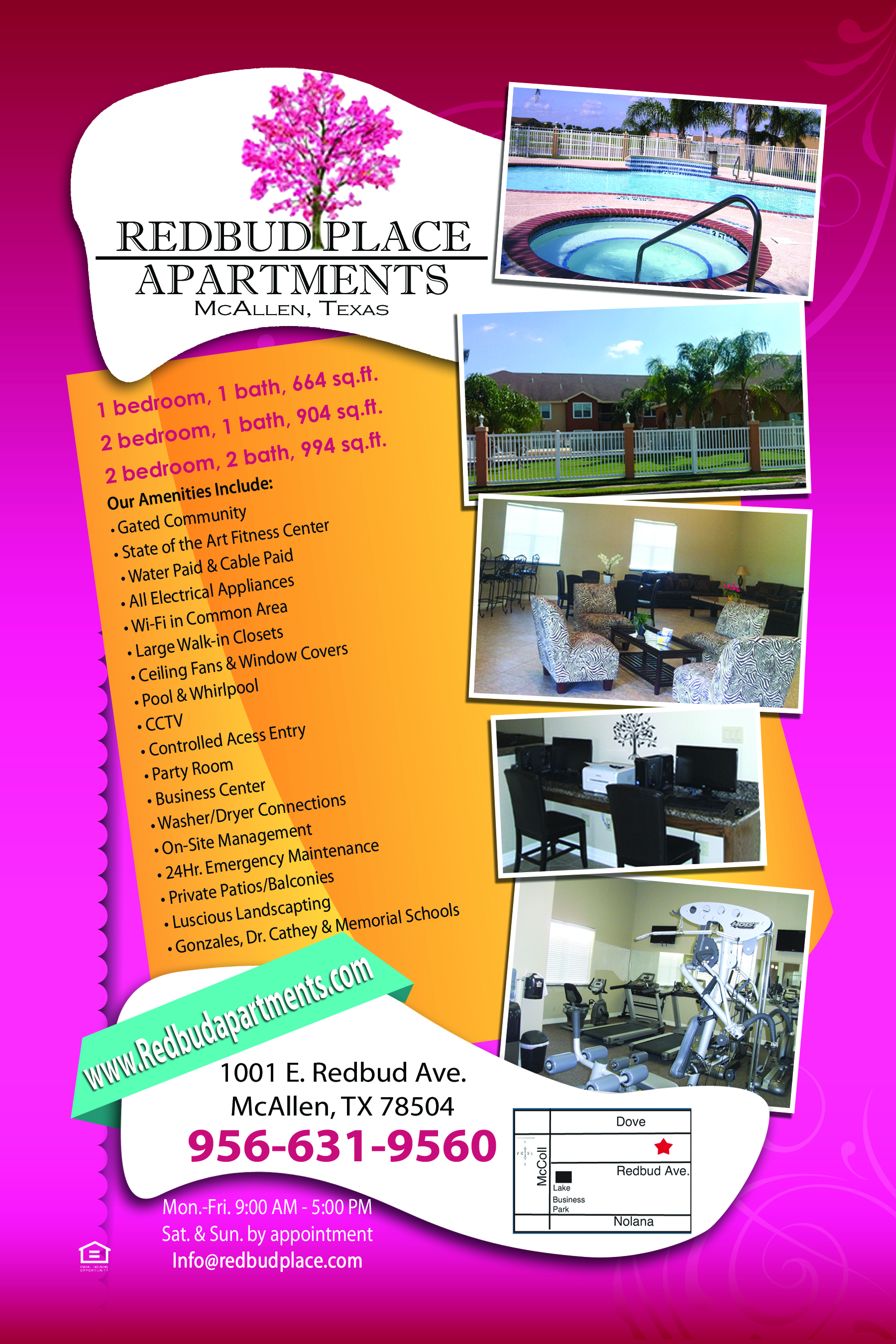 Redbud Place Apartments 1001 E Redbud Ave Mcallen Tx Show Me The Rent