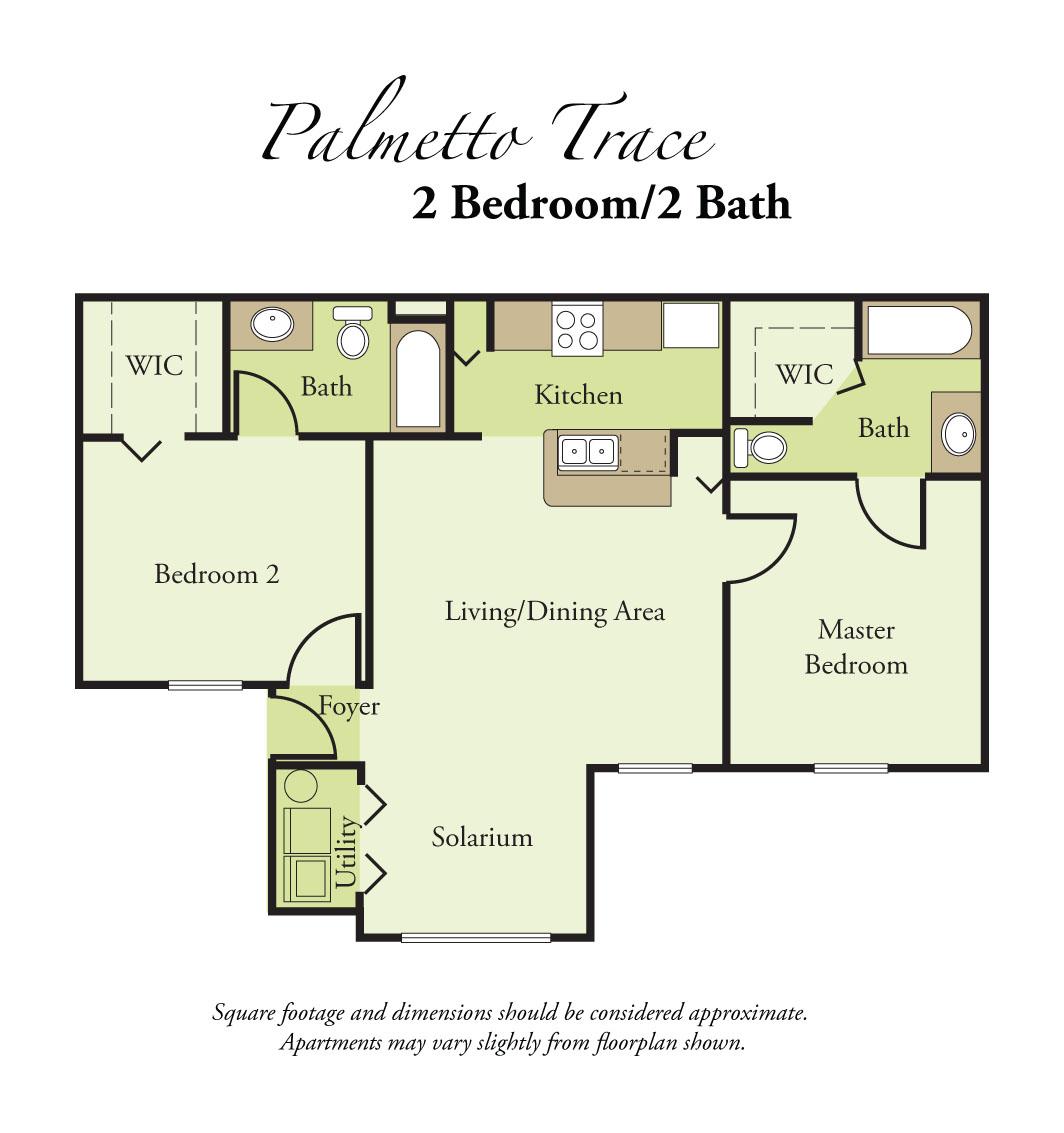 Falcon Trace Apartments: Palmetto Trace Apartments (708 2nd Ave E), Palmetto, FL