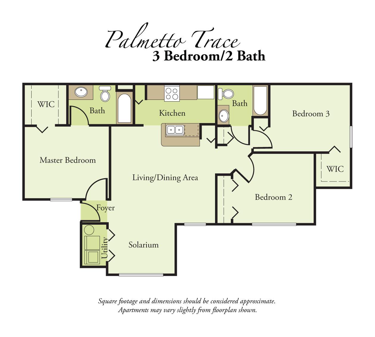 Palmetto Apartments: Palmetto Trace Apartments (708 2nd Ave E), Palmetto, FL